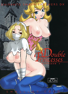 english comix Double Princesses - part 1813, peach , anal , loli