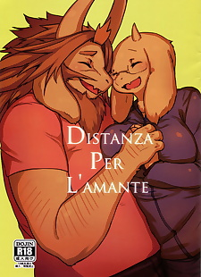 漫画 distanza 每 lamante 一部分 758, asgore , dreemurr , glasses , furry